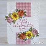 CARD: Let's celebrate you card from the Bloom and Grow stamp set