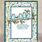 SNEAK PEEK: Your friendship from the Free as a Bird stamps
