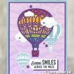 CARD: Sending smiles across the miles balloon card – Part 1 of 2