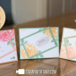 ONLINE CLASS & VIDEO: How to make Floral Framed Cards with Healing Hugs and Paper Pumpkin