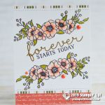 SNEAK PEEK: Forever starts today from the new Bloom & Grow stamp set