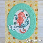 CARD: Thinking of You Seahorse from Seaside Notions