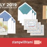 "VIDEO: July Paper Pumpkin Kit ""On My Mind Card Kit"" Reveal & Giveaway"