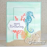 CARD: Happy birthday from the Seaside Notions stamps