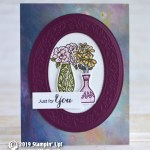CARD: Just for you from the Vibrant Vases Stamp set