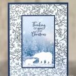 CARD: Polar Bears Thinking of You at Christmas Card