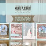 ONLINE CLASS & VIDEO: Into the Winter Woods Snow Globes & Mercury Glass Cards