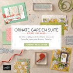 "SPECIAL: Ornate Garden""Early Release"" Suite of Products now available in my online store"