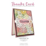 CARD: Thanks card from the Ornate Garden Suite