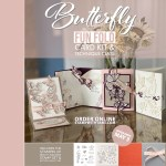 KIT: Butterfly Fun Fold Card Techniques Class and Kit ends May 3