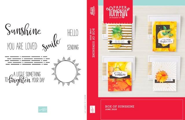 "VIDEO: June Paper Pumpkin ""A Box of Sunshine"" Card Kit plus ..."