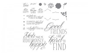 Lovely Friends stamps
