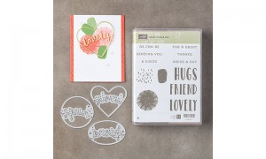 Lovely Inside and Out stamps and die set
