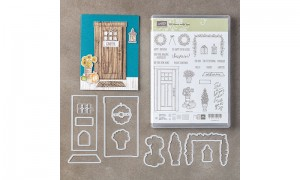 At Home with You stamps and die set