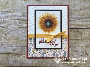 stampin up autumn harvest stamp set cards1