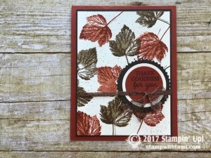 stampin up autumn harvest stamp set cards17