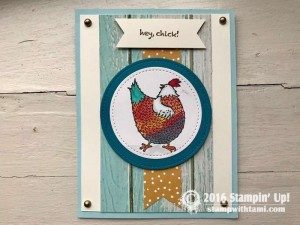 Hey chick Stamp set