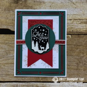 Merry Little Labels Stamp set