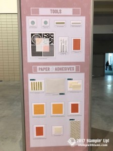 stampin up on stage new catalog display boards25