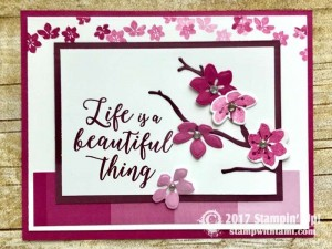 Stampin Up Color Theory Suite