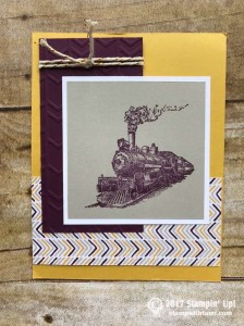Stampin Up Traveler Stamp set
