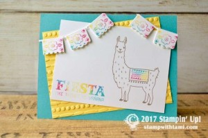 Stampin Up Birthday Fiesta Stamp set