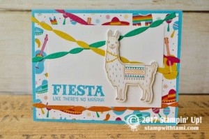 Stampin Up Birthday Fiesta Stamp set