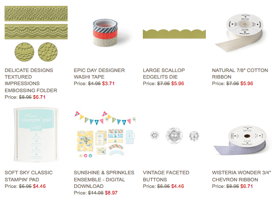 Weekly Deals for June 17-23, 2014 Stampin' Up!® - Stamp Your Art Out! www.stampyourartout.com