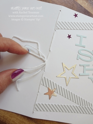 """July 2014 My Paper Pumpkin kit """"Wish Big"""" ideas - Stampin' Up!® - Stamp Your Art Out! www.stampyourartout.com"""