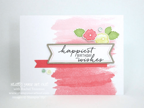 Click here to see all 20 alternate card ideas I created with the Watercolor Wishes Card Kit…#stampyourartout #stampinup - Stampin' Up!® - Stamp Your Art Out! www.stampyourartout.com