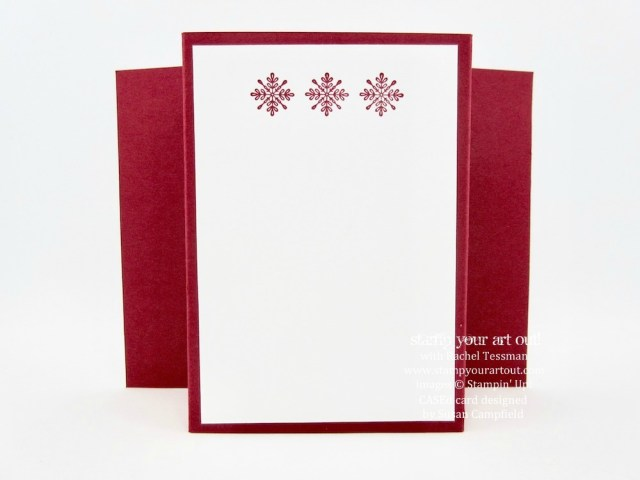 Bridge Fold Card made with Smitten Mittens Bundle ...#stampyourartout - Stampin' Up!® - Stamp Your Art Out! www.stampyourartout.com