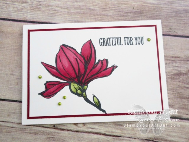 Stampin' Blends Available November 1st! Click here to see how to make this card using the new Stampin' Blends alcohol-based markers from Stampin' Up! ...#stampyourartout - Stampin' Up!® - Stamp Your Art Out! www.stampyourartout.com