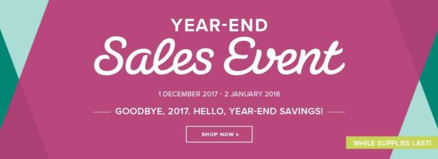 Year End Sales Event 2017 ...#stampyourartout #stampinup - Stampin' Up!® - Stamp Your Art Out! www.stampyourartout.com