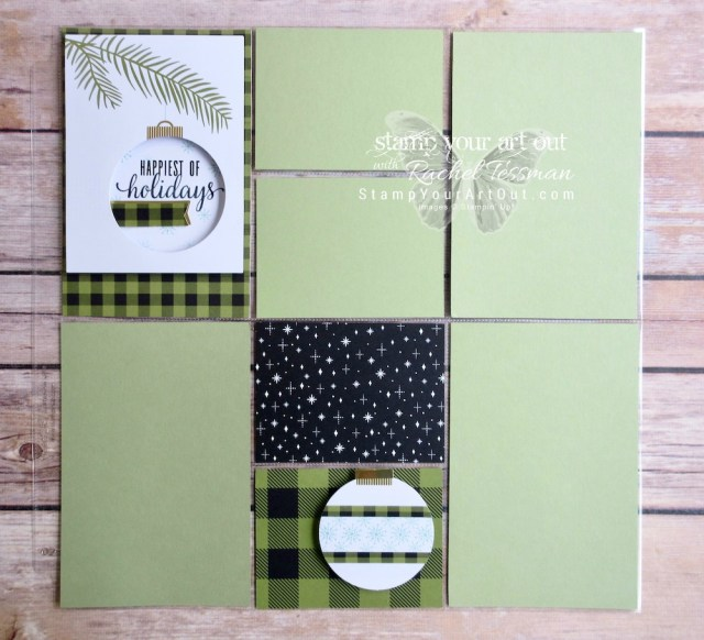 "Photo pocket page created with the October 2017 ""Pining for Plaid"" Paper Pumpkin kit!…#stampyourartout - Stampin' Up!® - Stamp Your Art Out! www.stampyourartout.com"