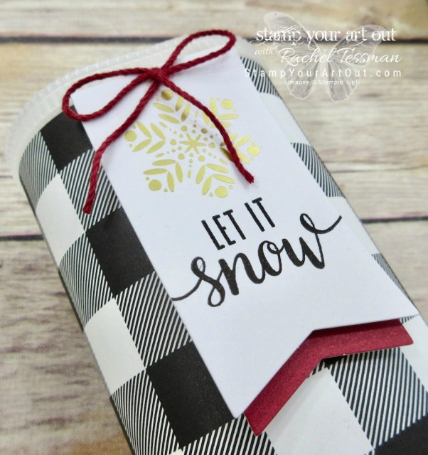 Click here to see photos and a how-to video for lots of great projects created with the November 2017 Back In Plaid Paper Pumpkin kit: baby booties, stocking-capped snowmen, a pocket photo scrapbooking page featuring Rudolph, and more! ...#stampyourartout #stampinup - Stampin' Up!® - Stamp Your Art Out! www.stampyourartout.com