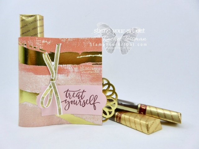 Click here for measurements AND to watch my quick video to see how I made these Merci Chocolate Candy Wraps featuring the beautiful new Painted with Love Specialty Designer Paper in the 2018 Occasions Catalog...#stampyourartout #stampinup - Stampin' Up!® - Stamp Your Art Out! www.stampyourartout.com