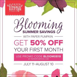 Blooming Summer Savings with Paper Pumpkin! …#stampyourartout #stampinup - Stampin' Up!® - Stamp Your Art Out! www.stampyourartout.com
