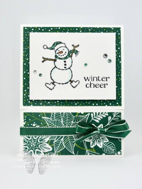 Click here for more information & to watch my video to see how to make a Slide Out Pocket Fun Fold Card. I shared 4 versions of this card with lots of fun products: Spirited Snowmen stamp set, Under the Mistletoe designer paper, Stampin' Blends markers, Dashing Along Designer Series Paper, Dashing Deer Thinlits, Santa's Workshop designer paper, and Santa's Signpost Framelits.…#stampyourartout #stampinup - Stampin' Up!® - Stamp Your Art Out! www.stampyourartout.com