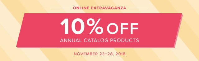 So many great products on sale November 23-28 during Stampin' Up!'s Online Extravaganza!.…#stampyourartout #stampinup - Stampin' Up!® - Stamp Your Art Out! www.stampyourartout.com