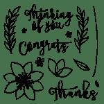 The October 2015 Blissful Bouquet Pumpkin kit stamp set. #stampyourartout #stampinup - Stampin' Up!® - Stamp Your Art Out! www.stampyourartout.com