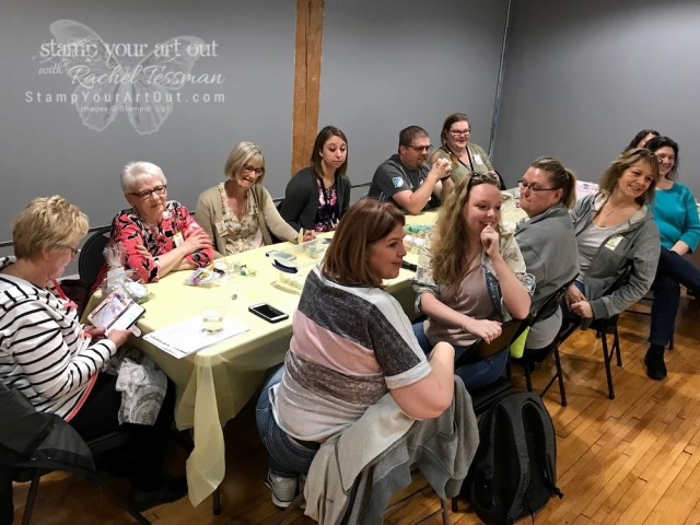 Having a blast at Stampin' Up!'s April 2019 OnStage in Minneapolis, MN! Team After Party. #OnStage2019 #stampyourartout #stampinup - Stampin' Up!® - Stamp Your Art Out! www.stampyourartout.com