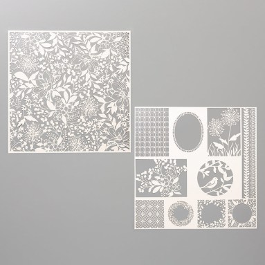 Shimmer Detailed Laser-Cut Designer Series Paper. #stampyourartout #stampinup - Stampin' Up!® - Stamp Your Art Out! www.stampyourartout.com