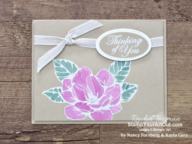 Click here to see 11 beautiful hand-stamped sympathy cards that we've received from fellow Stampin' Up! Demonstrators. #stampyourartout #stampinup - Stampin' Up!® - Stamp Your Art Out! www.stampyourartout.com