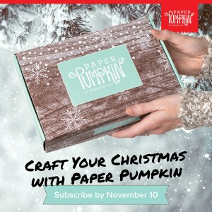 Sign up by November 10th to get the next exclusive Paper Pumpkin Kit! The November 2019 Paper Pumpkin kit makes 24 holiday-themed gift tags of 4 various sizes and designs. It comes in special-edition box and includes coordinating colors: Early Espresso, Pool Party, Poppy Parade, and Shaded Spruce. - Stampin' Up!® - Stamp Your Art Out! www.stampyourartout.com