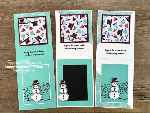 Click here to see how to make this festive Corner Twist Card (with the Let it Snow Suite of products). This card is an adaptation and simplified version of the fun-fold card I made for the October 2019 Stampin' Anonymous set of Tutorials. The key for this card is to have an image on the front that will look good if turned 45 degrees. You'll be able to watch my video so you can see all my tips and tricks and get the step-by-step directions. You'll also be able to access measurements, see other close-up photos, and get links to all the products I used. - Stampin' Up!® - Stamp Your Art Out! www.stampyourartout.com