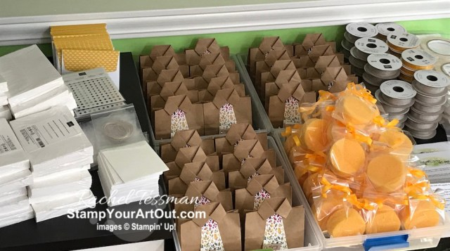 Preparing for my Gift of Fall Paper Pumpkin Palooza. - Stampin' Up!® - Stamp Your Art Out! www.stampyourartout.com