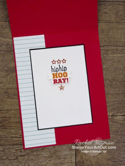 I brought the For the Win stamp set and the Come to Gather designer paper together and created this fun birthday card. Click here for directions, measurements, tips, and a list of products I used linked to my online store. Stampin' Up!® - Stamp Your Art Out! www.stampyourartout.com
