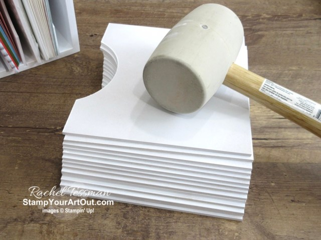 I'm using my new 6x6 Paper Holders from Stamp-n-Storage to hold and organize my precut cards and envelope packs! - Stampin' Up!® - Stamp Your Art Out! www.stampyourartout.com