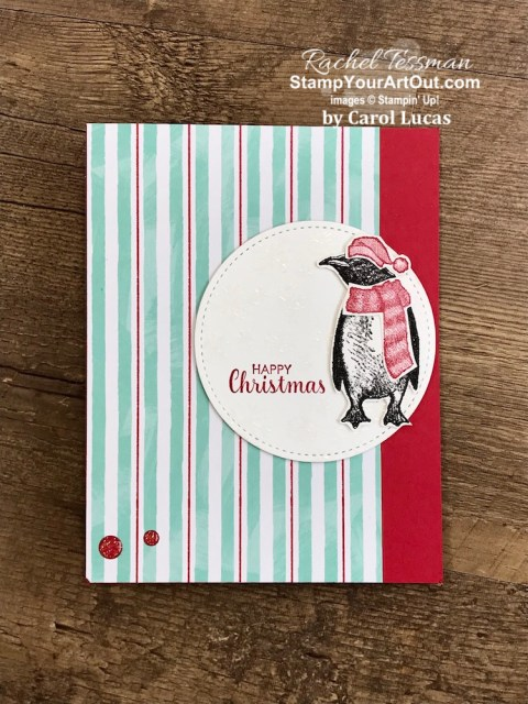Some of my handmade Christmas cards - December 2019!  Stampin' Up!® - Stamp Your Art Out! www.stampyourartout.com