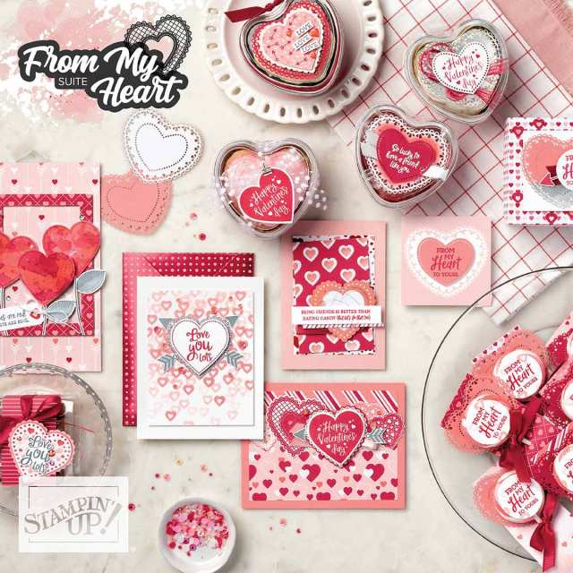 From My Heart Suite! - Stampin' Up!® - Stamp Your Art Out! www.stampyourartout.com